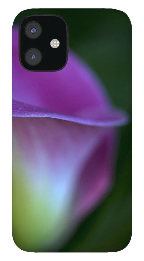 Calla Lily iPhone 12 Case featuring the photograph Calla Lily by Jessica Wakefield