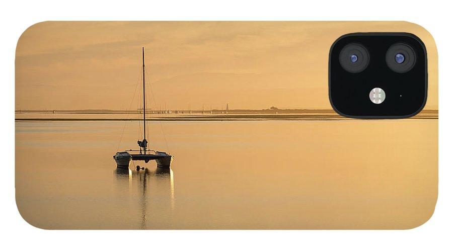 Catamaran IPhone 12 Case featuring the photograph Catamaran sunset by Sheila Smart Fine Art Photography
