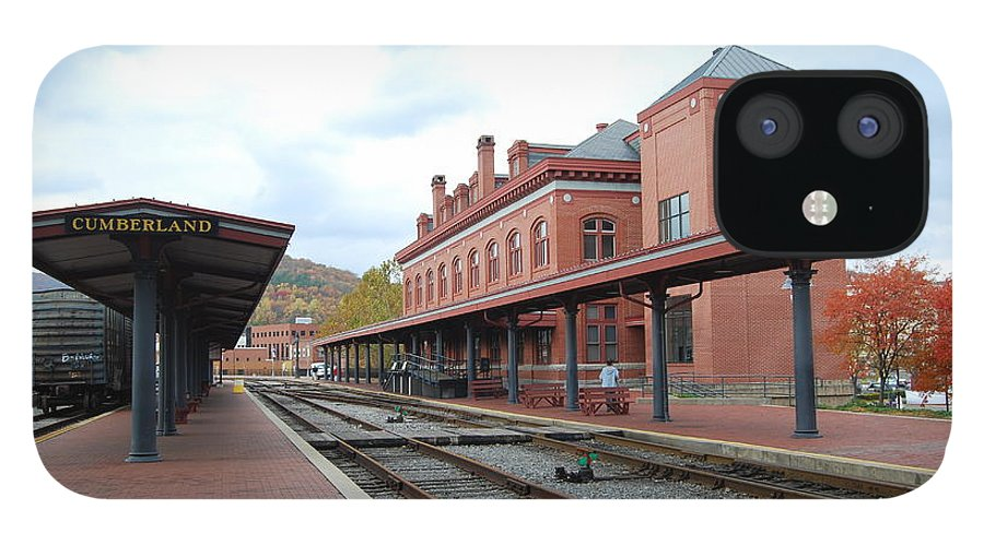 Historic IPhone 12 Case featuring the photograph Cumberland City station by Eric Liller