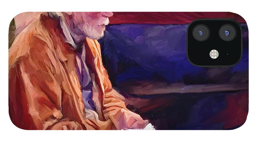 Portrait IPhone 12 Case featuring the digital art Don by Scott Waters