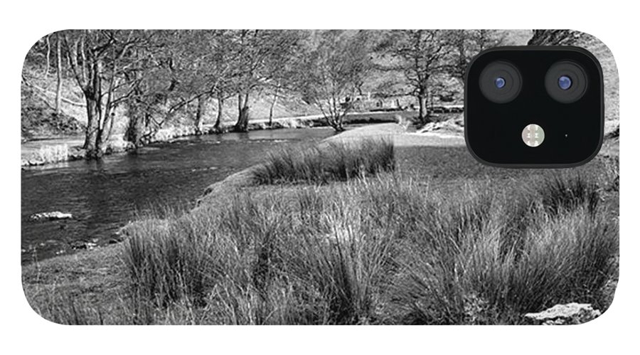 Dale IPhone 12 Case featuring the photograph Dovedale, Peak District UK by John Edwards