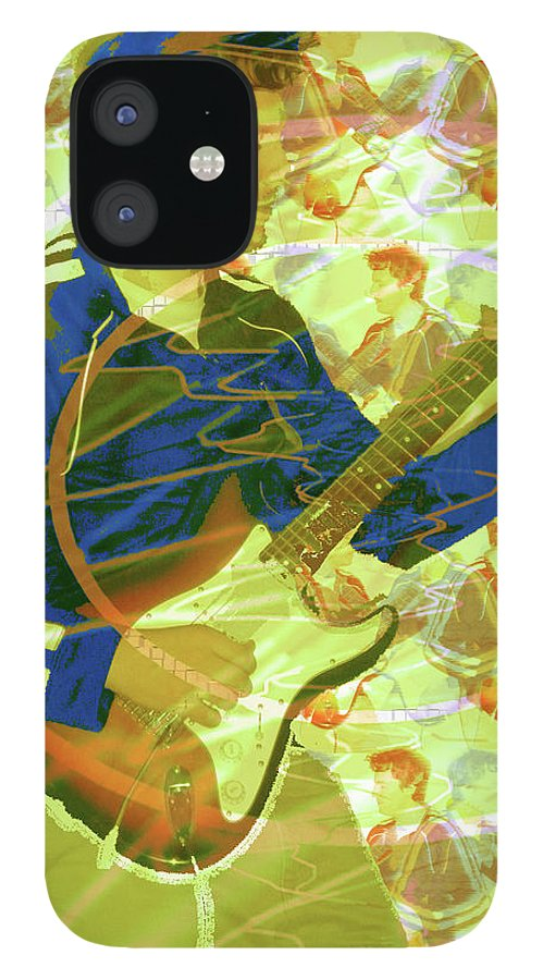 Dr. Guitar iPhone 12 Case featuring the photograph Dr. Guitar by Seth Weaver
