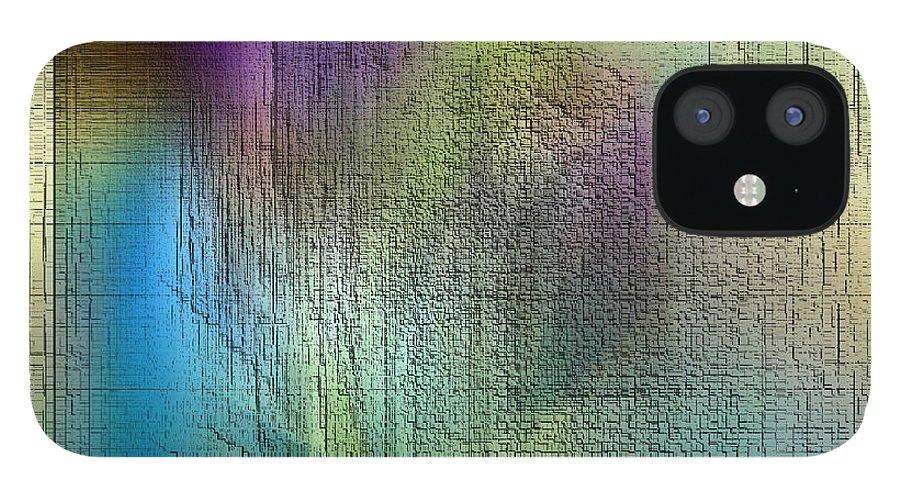 Digital IPhone 12 Case featuring the digital art Dream Meeting by Ilona Burchard