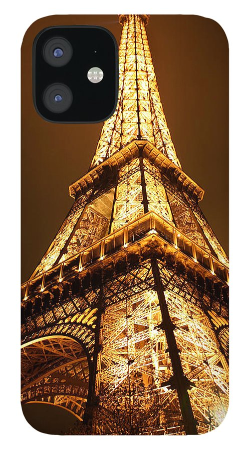 Eiffel IPhone 12 Case featuring the photograph Eiffel by Skip Hunt