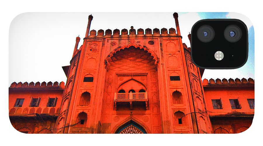 Architecture IPhone 12 Case featuring the photograph #Entrance Gate by Aakash Pandit