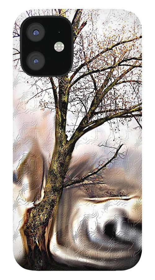 Landscape IPhone 12 Case featuring the digital art Everlasting by Crystal Webb
