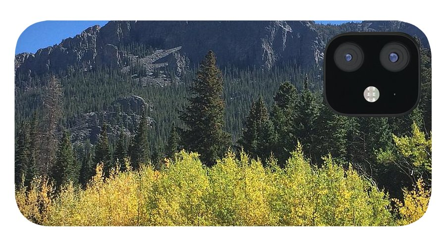 Landscape iPhone 12 Case featuring the photograph Fall at Twin Sisters by Kristen Anna
