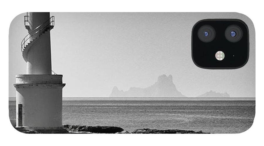 Balearics IPhone 12 Case featuring the photograph Far De La Savina Lighthouse, Formentera by John Edwards