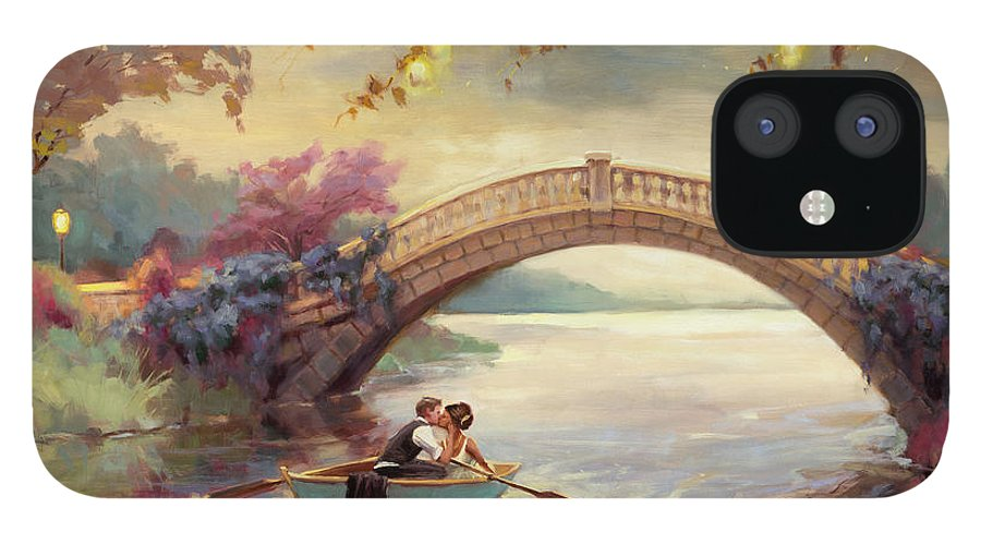 Romance IPhone 12 Case featuring the painting Forever Yours by Steve Henderson