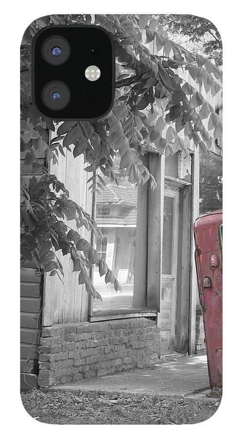 Rural IPhone 12 Case featuring the photograph Funk's Grove IV by Dylan Punke