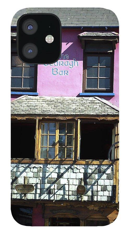 Irish IPhone 12 Case featuring the photograph Gearagh Pub in Macroom Ireland by Teresa Mucha