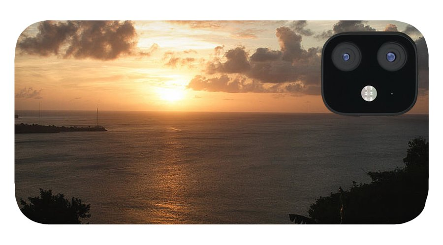 Grenada IPhone 12 Case featuring the photograph Grenadian Sunset I by Jean Macaluso