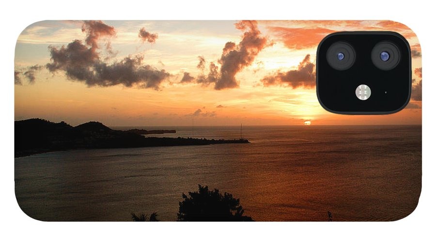 Sunset IPhone 12 Case featuring the photograph Grenadian Sunset II by Jean Macaluso