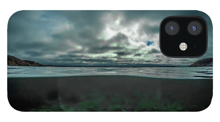 Underwater iPhone 12 Case featuring the photograph Hostsaga - Autumn tale by Nicklas Gustafsson