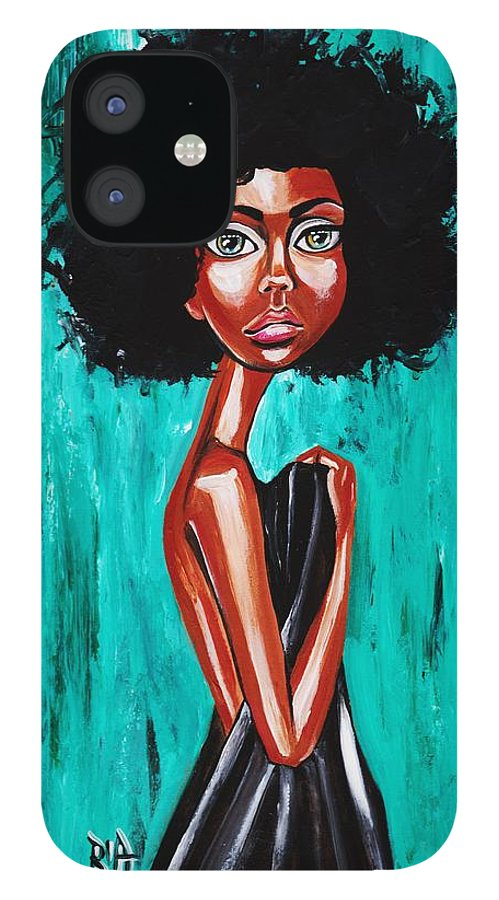Afro IPhone 12 Case featuring the photograph If From Past Sins Ive Been Washed Clean-why Do I Feel So Dirty by Artist RiA