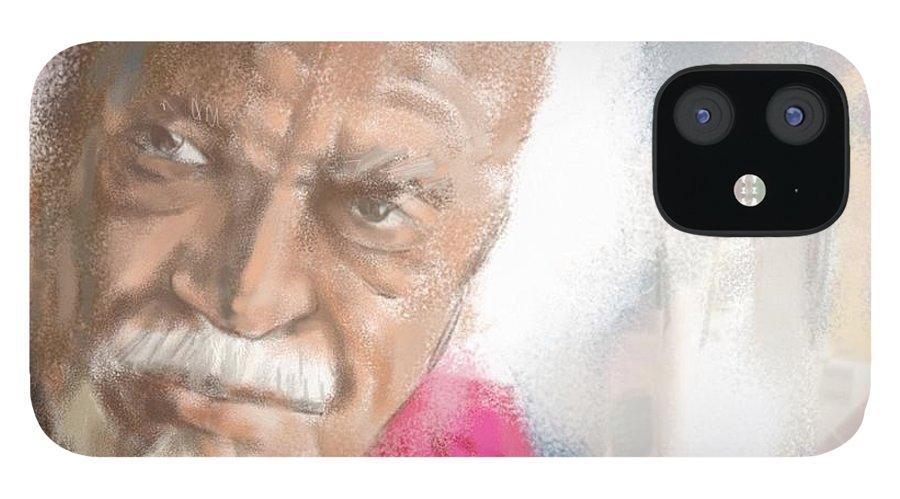 "David Kaparalic ""ili Ili"" Maui IPhone 12 Case featuring the digital art Ili Ili by Scott Waters"