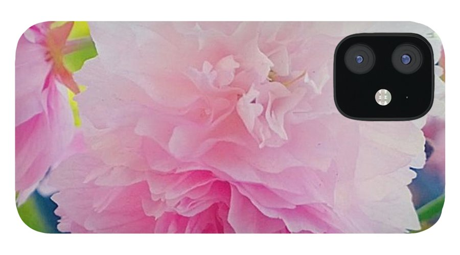 Pink IPhone 12 Case featuring the photograph In Love With This Delicate #pink #tree by Shari Warren