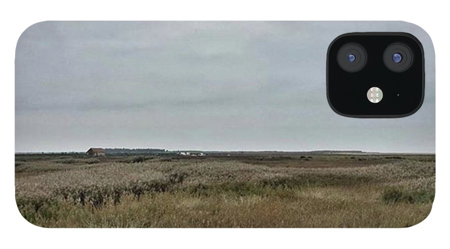 Natureonly IPhone 12 Case featuring the photograph It's A Grey Day In North Norfolk Today by John Edwards