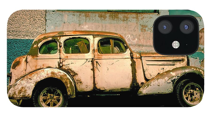 Skip IPhone 12 Case featuring the photograph Jalopy by Skip Hunt