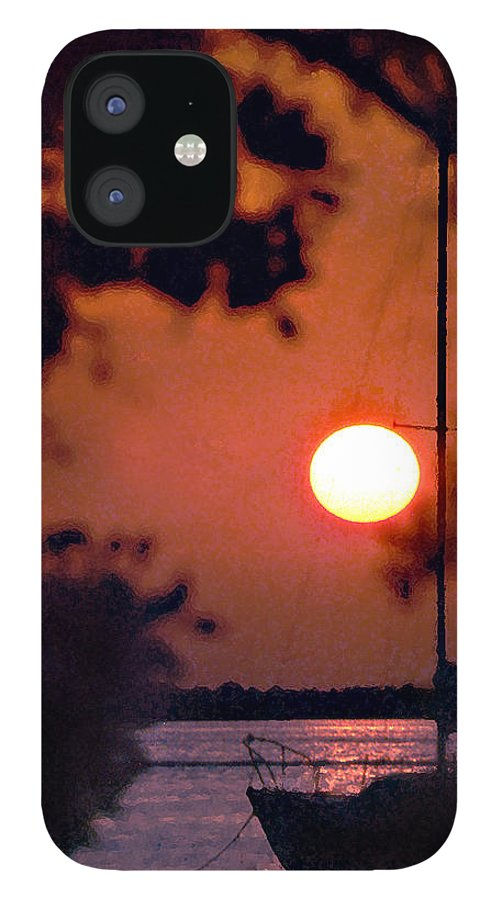 Seascape IPhone 12 Case featuring the photograph Key Largo by Steve Karol