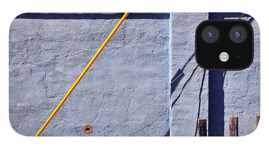Skip Hunt IPhone 12 Case featuring the photograph Krishna Blue by Skip Hunt