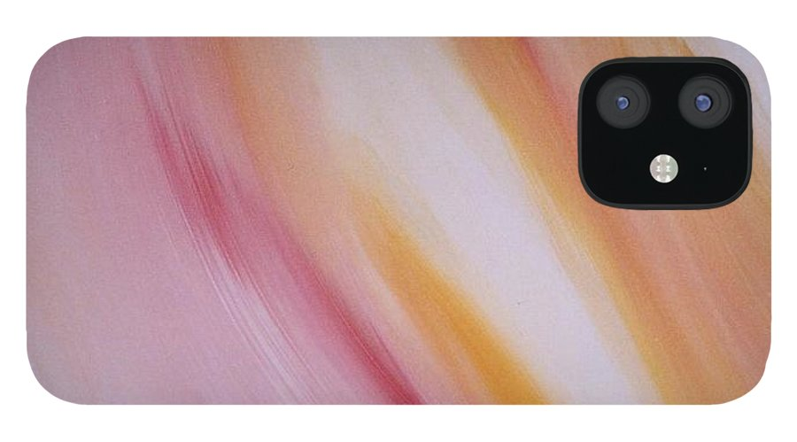 Light IPhone 12 Case featuring the painting Lichtbogen by Michael Puya