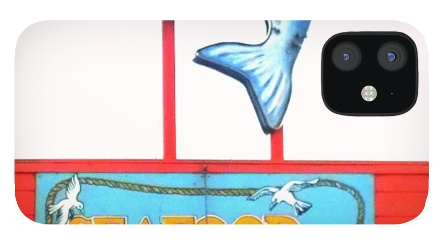 Princetonharbor IPhone 12 Case featuring the photograph Love This #sign For An Old School by Shari Warren