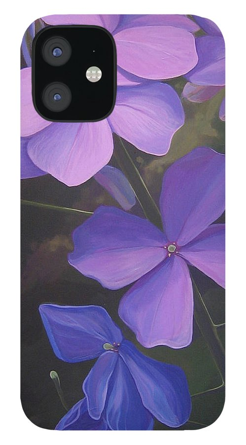 Closeup Of Colorado Wildflower Near Durango IPhone 12 Case featuring the painting Lush Life by Hunter Jay