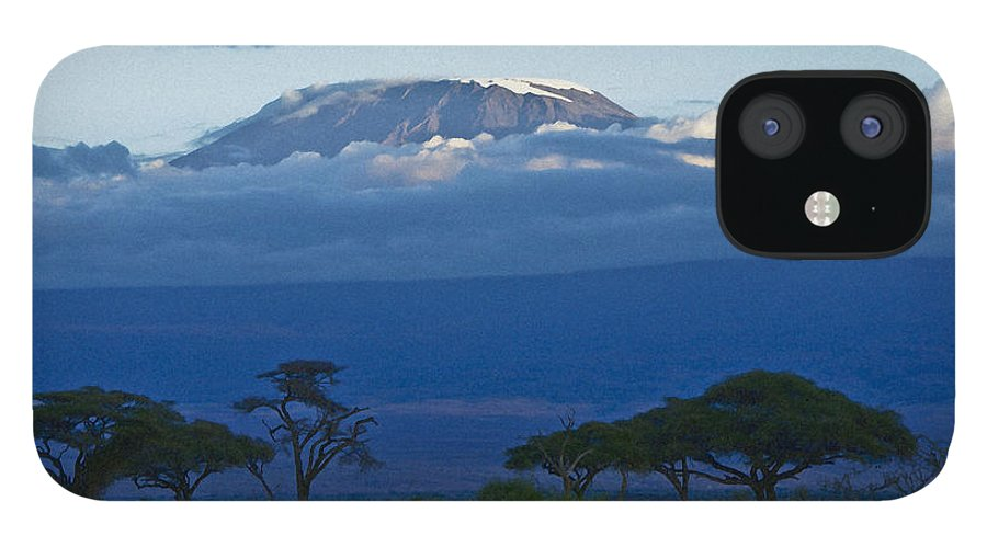 Africa IPhone 12 Case featuring the photograph Magnificent Kilimanjaro by Michele Burgess