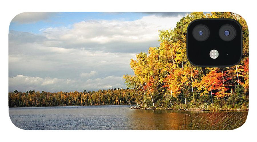 Minnesota IPhone 12 Case featuring the photograph Maple Lake by Bill Morgenstern