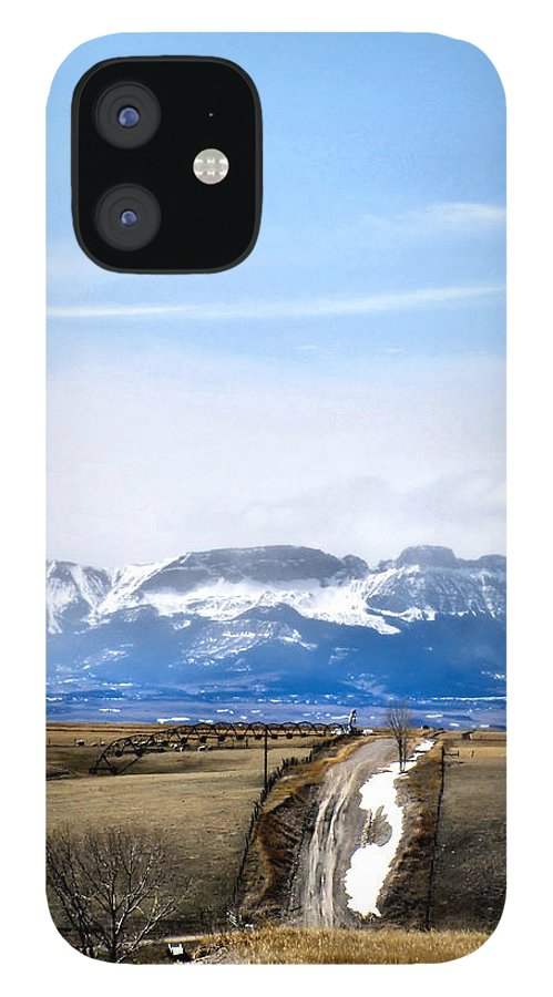 Montana IPhone 12 Case featuring the photograph Montana Scenery one by Susan Kinney