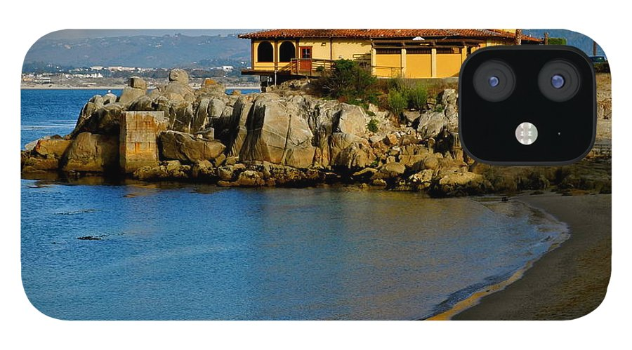 Monterey Bay Restaurant iPhone 12 Case featuring the photograph Monterey Bay Restaurant by Kirsten Giving