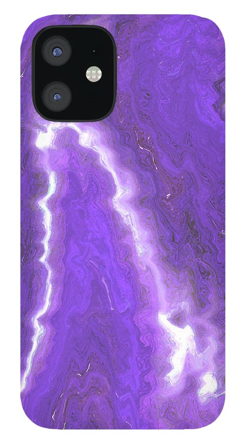Moveonart! Digital Gallery IPhone 12 Case featuring the digital art MoveOnArt Adjusting To Changes I by Jacob Kanduch