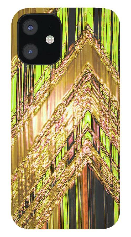 Moveonart! Digital Gallery IPhone 12 Case featuring the digital art MoveOnArt Amplify Your Creativity Three by Jacob Kanduch