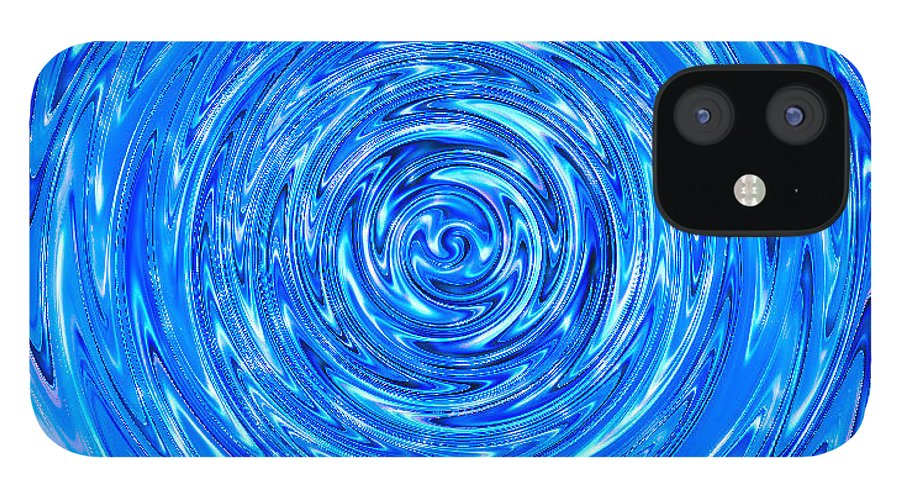 Moveonart! Digital Gallery IPhone 12 Case featuring the digital art MoveOnArt Peace Renewal Planet Earth by Jacob Kanduch