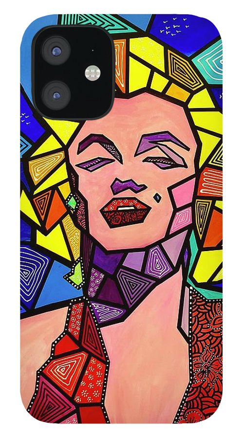 Marilyn Monroe iPhone 12 Case featuring the photograph My Marilyn by Marconi Calindas