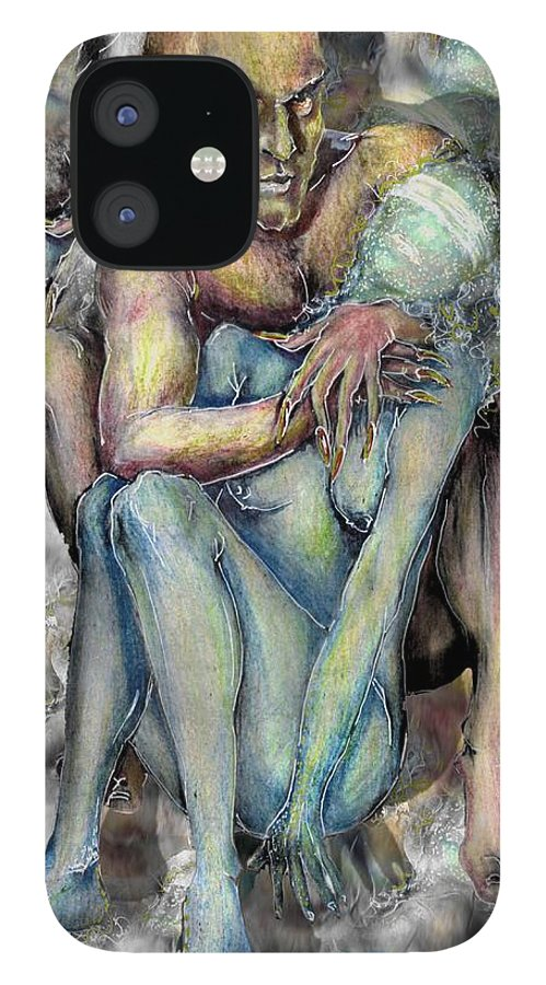 Demons Love Passion Control Posession Woman Lust IPhone 12 Case featuring the mixed media My Precious by Veronica Jackson