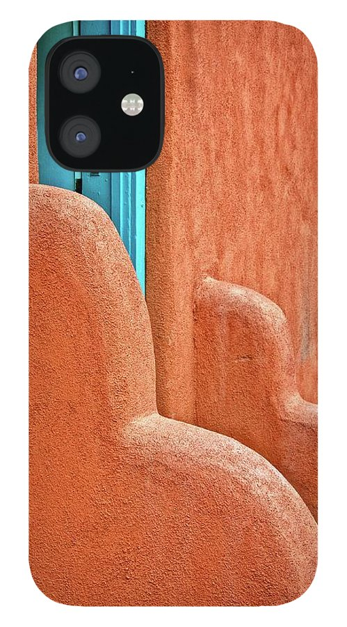 Door IPhone 12 Case featuring the photograph New Mexico Style by Zayne Diamond Photographic