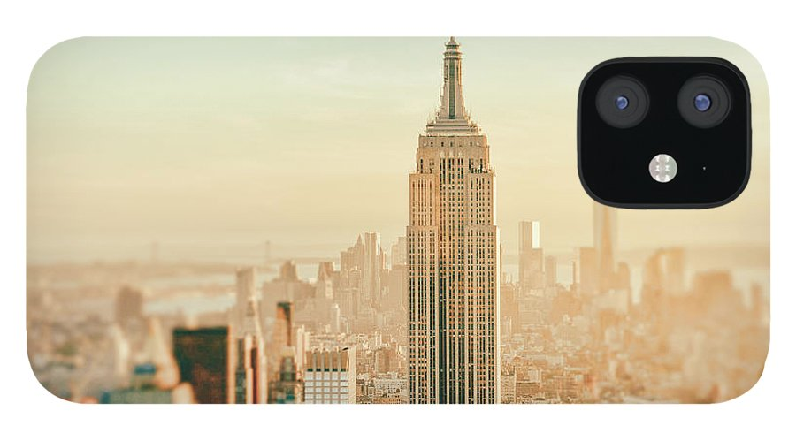 Nyc IPhone 12 Case featuring the photograph New York City - Skyline Dream by Vivienne Gucwa