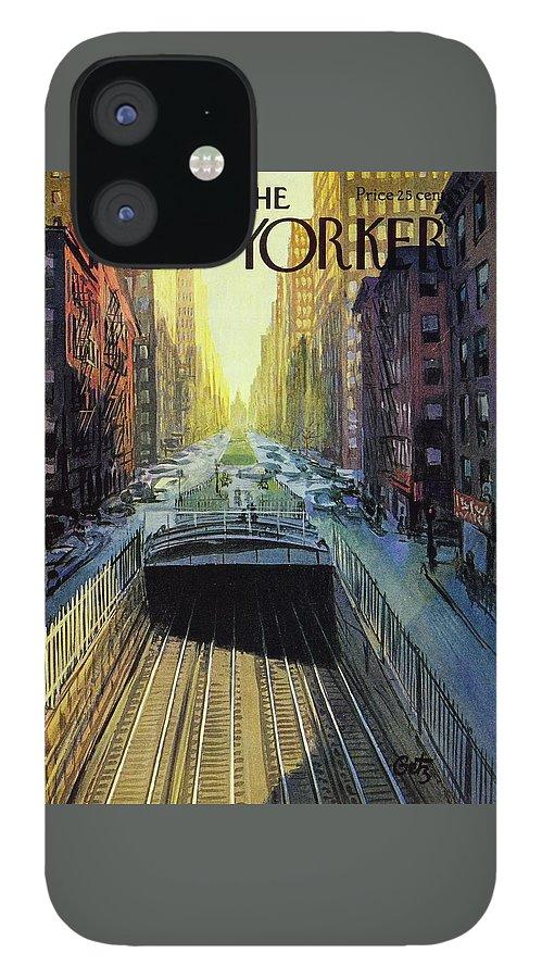 New Yorker November 12 1960 IPhone 12 Case