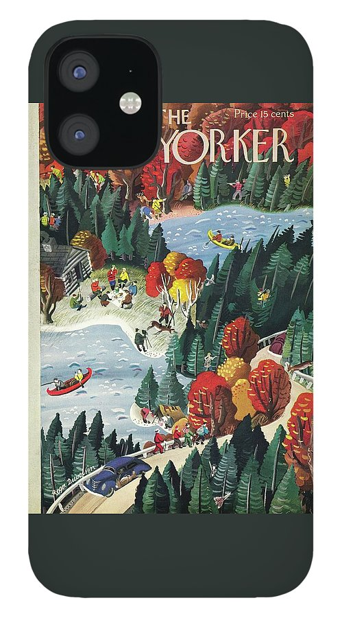 New Yorker October 18 1941 IPhone 12 Case