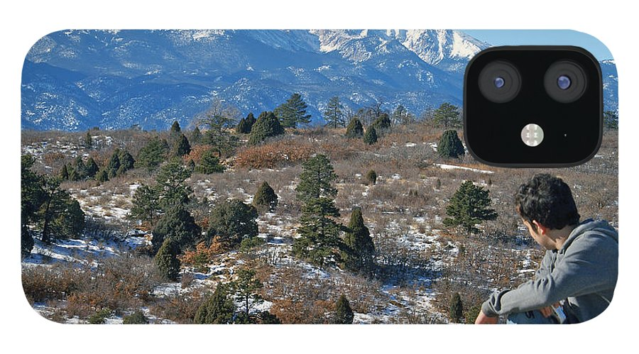 Colorado IPhone 12 Case featuring the photograph No room but has a View by Jack Norton