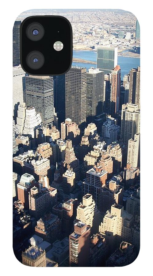 Nyc IPhone 12 Case featuring the photograph Nyc 4 by Anita Burgermeister