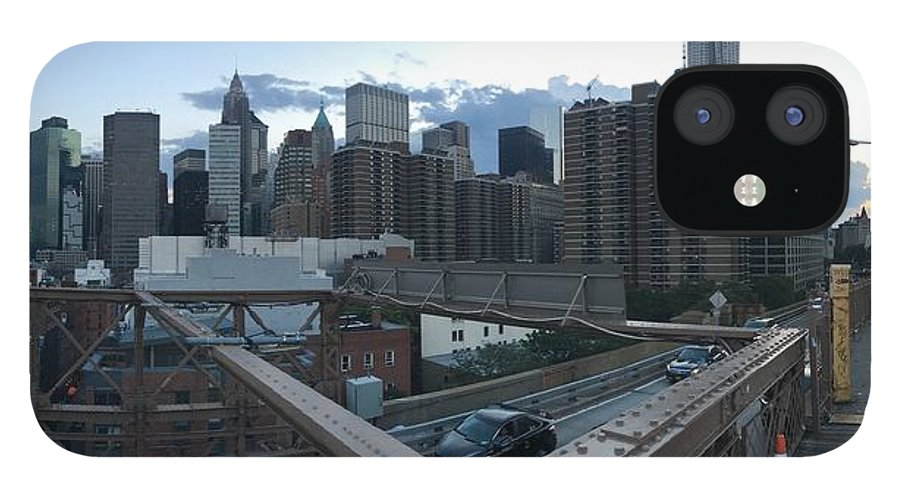 IPhone 12 Case featuring the photograph NYC by Ashley Torres