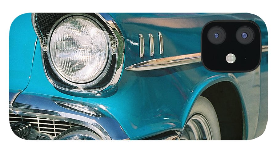 Chevy IPhone 12 Case featuring the photograph Old Chevy by Steve Karol