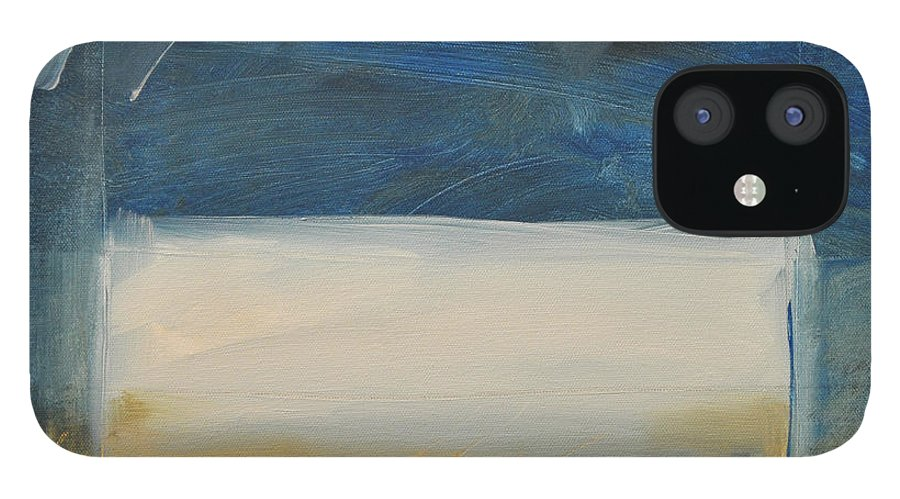 Rothko IPhone 12 Case featuring the painting Old MacRothko had a Farm by Tim Nyberg