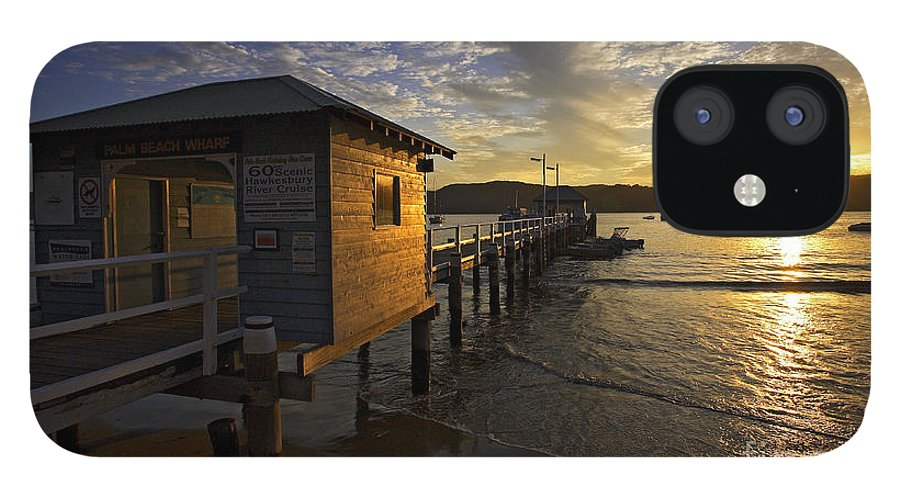 Palm Beach Sydney Australia Sunset Water Pittwater IPhone 12 Case featuring the photograph Palm Beach sunset by Sheila Smart Fine Art Photography