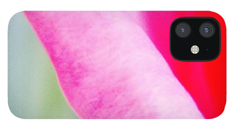 Rose IPhone 12 Case featuring the photograph Pink Roses by Heidi Hermes