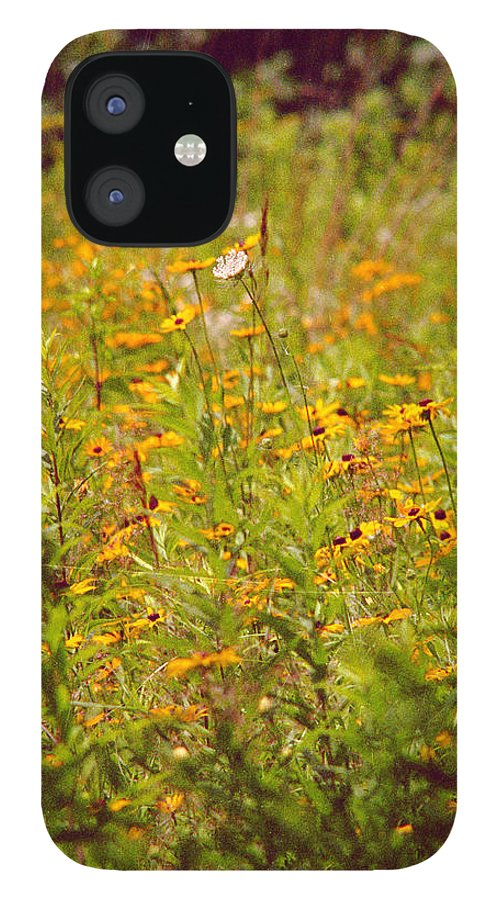 Flower IPhone 12 Case featuring the photograph Queen Ann by Randy Oberg