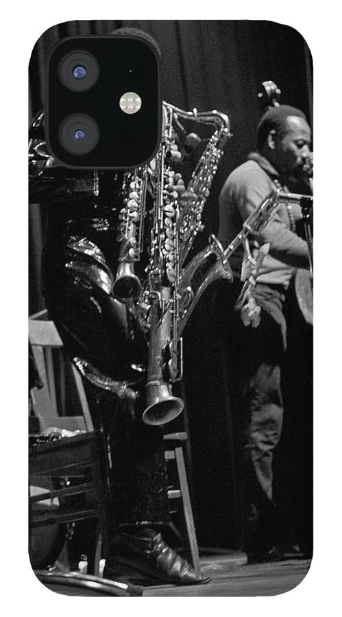 Rahsaan Roland Kirk IPhone 12 Case featuring the photograph Rahsaan Roland Kirk 1 by Lee Santa